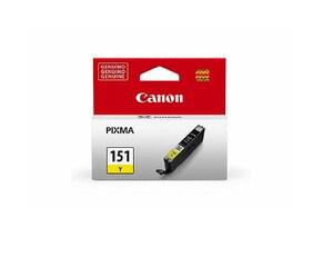 Tinta Canon CLI151Y color Amarillo