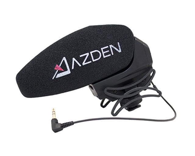 Micrófono Profesional para Video con Opción Estereo y Azden SMX-30 color Negro