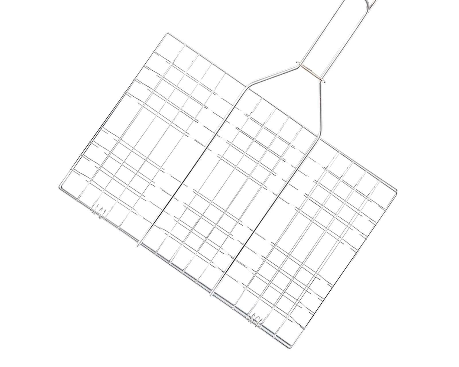 Foto 2|Parrilla Rectangular de Acero Inoxidable