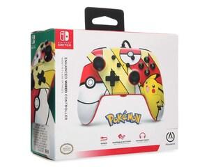 Control Alámbrico Power A Pikachu Pop para Nintendo Switch