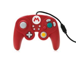 Control Alámbrico para Nintendo Switch color Rojo