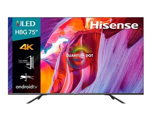 Pantalla ULED Hisense 75' Ultra HD 4K Smart TV 75H8G