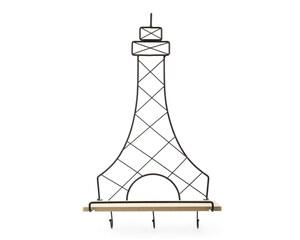Repisa Eiffel de Metal / Madera Industrial