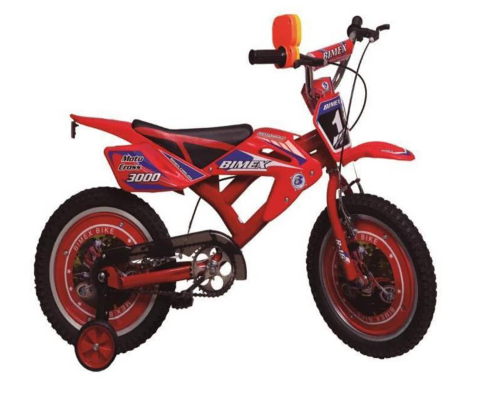 Bicicleta Bimex Motocross 1600 16