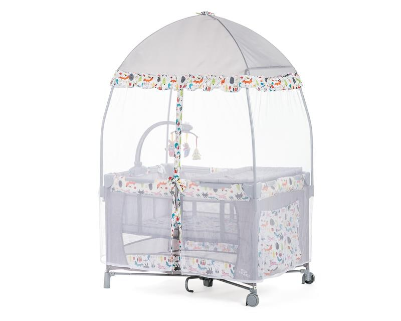 Cuna Viajera Baby Colors Happy Forest 5320113 | Coppel