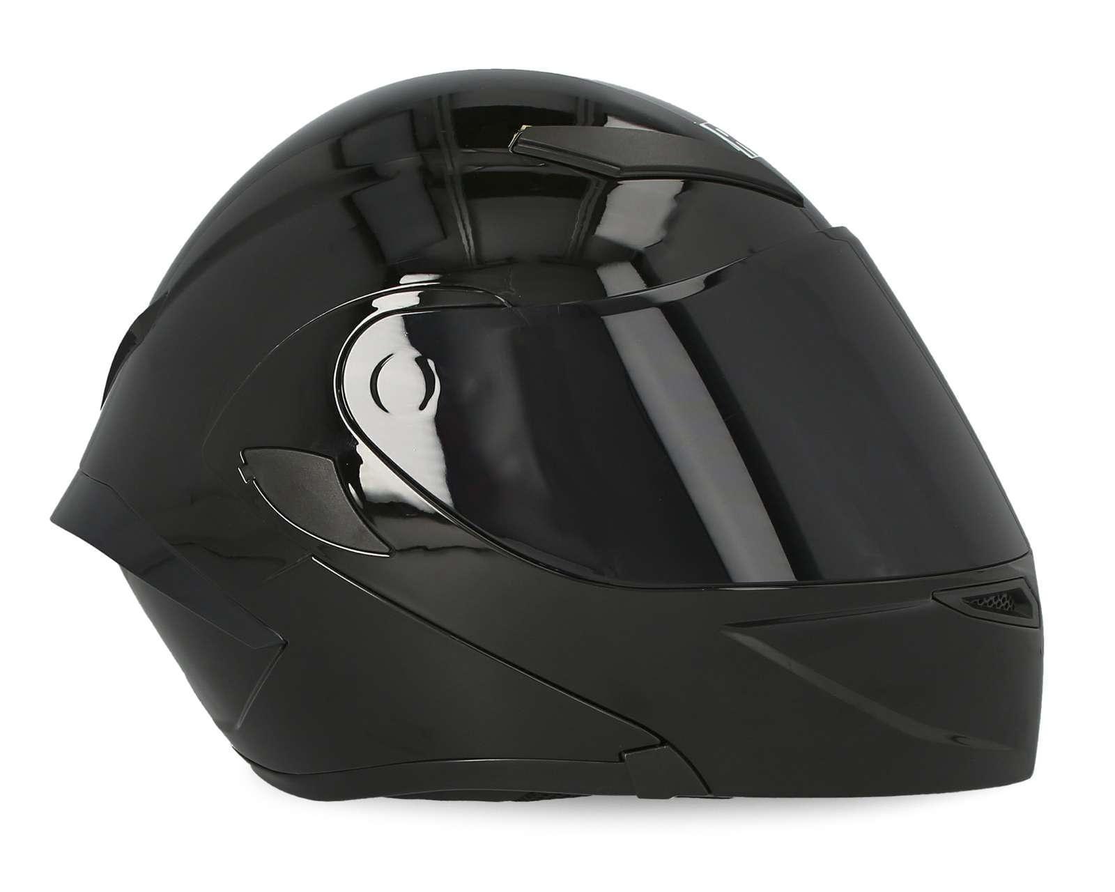 Foto 6|Casco para Motociclista Brumm Mediano Negro