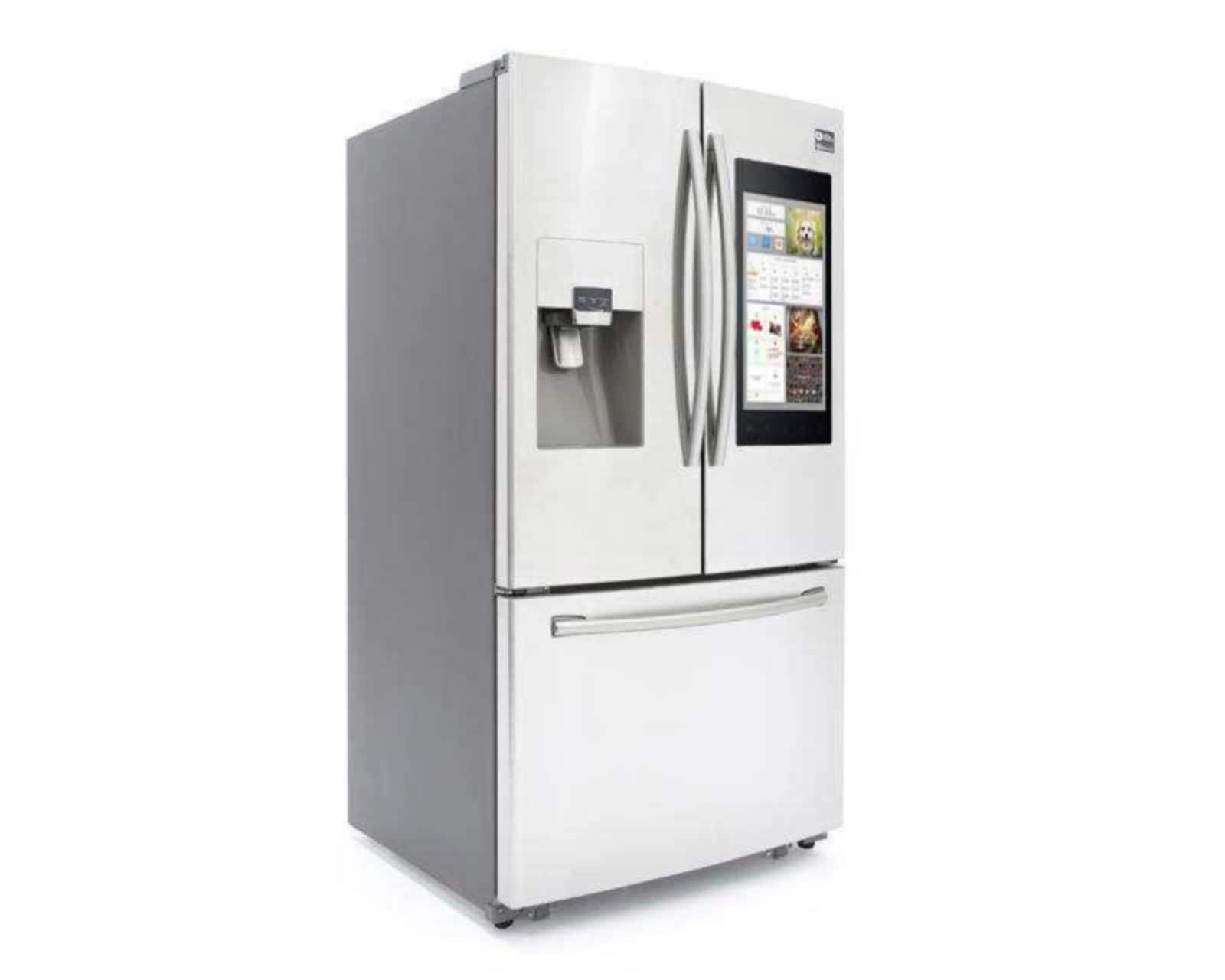 Refrigerador Samsung Bottom Mount RF265BEAESR/EM de 24 pies