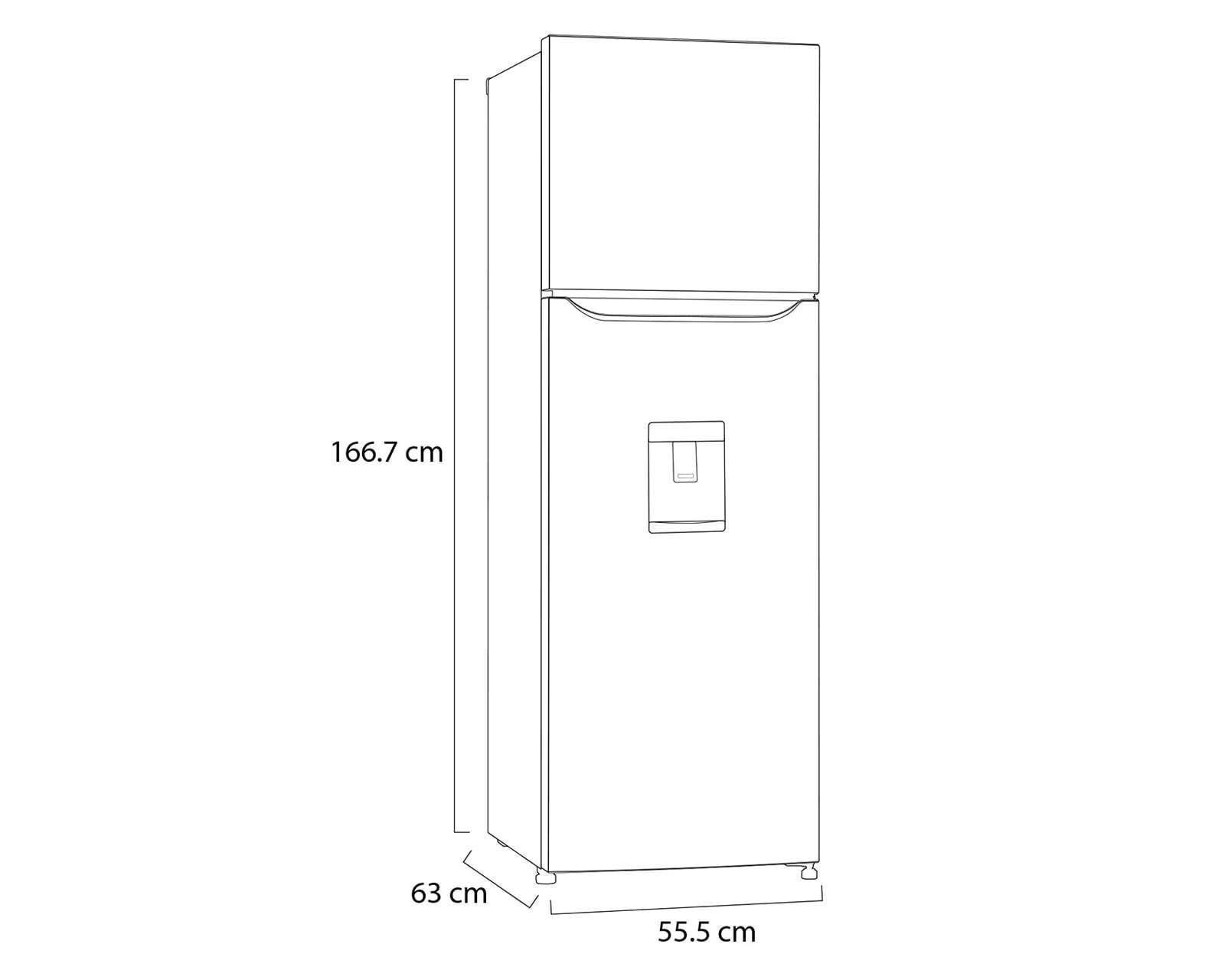 Foto 8|Refrigerador LG Top Mount 9 Pies Acero Inoxidable GT29WDC