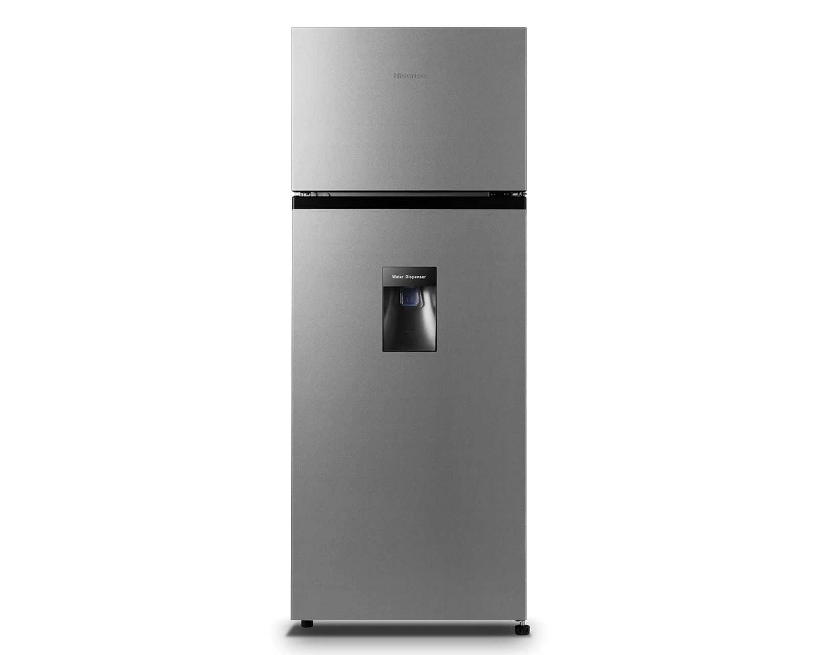 Refrigerador Hisense Top Mount 8 Pies Silver RT80D6WGX