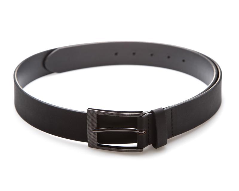 Cinturón de Vestir Negro marca Flexi para Hombre