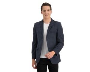 Saco de Vestir Azul marca Wallstreet para Hombre