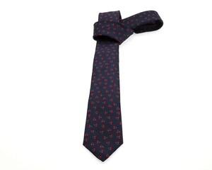 Corbata Estampada Wallstreet Azul para Hombre