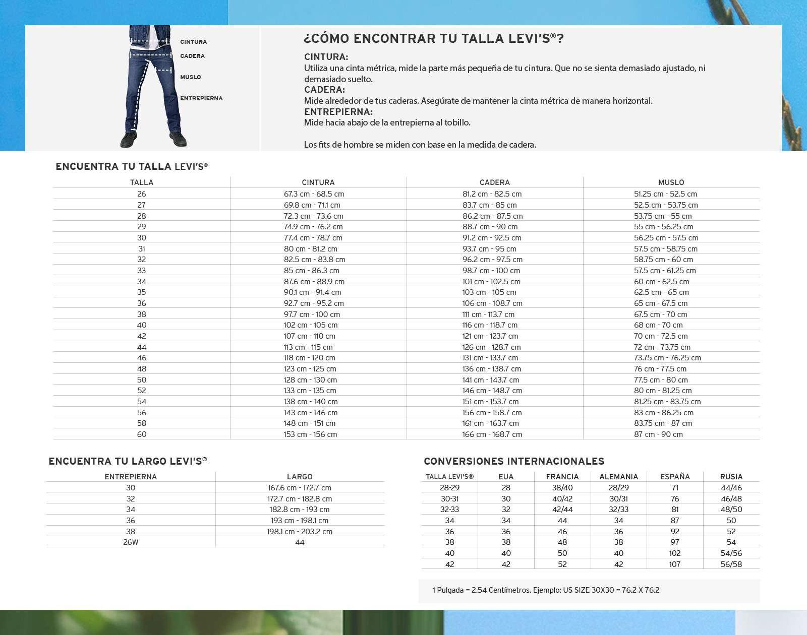 Foto 5|Pantalón 510 Skinny Fit Largo 32 marca Levi´s para Hombre