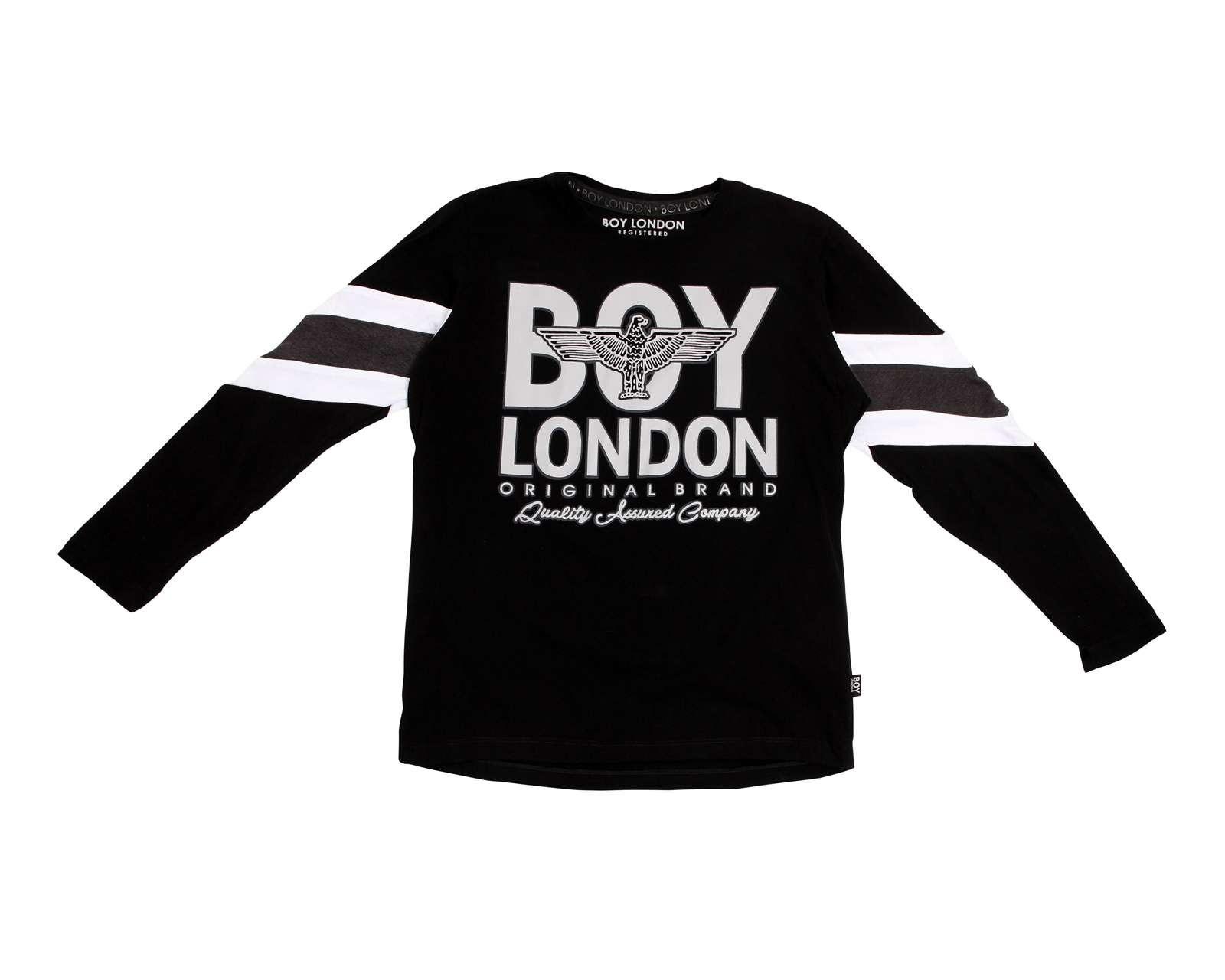 Playera Boy London Cuello Redondo