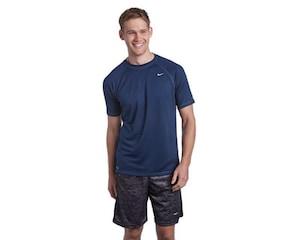 Playera Deportiva para Hombre Nike Azul
