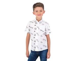 Camisa Blanca marca Neo*City para Niño