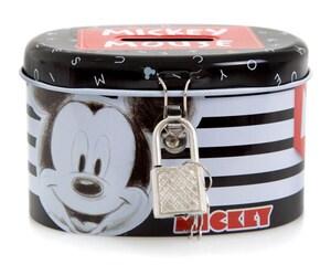 Alcancía Metálica Disney Mickey Mouse