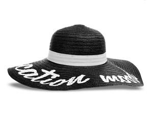 Sombrero Negro marca Rio Beach para Mujer