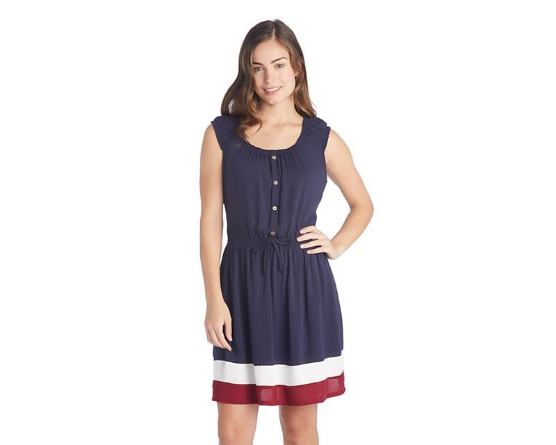 Vestido Up Down Azul 3081732 Coppel