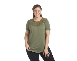 Playera Lady Sun Verde