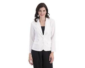 Blazer Casual Blanco marca Sahara Woman para Mujer