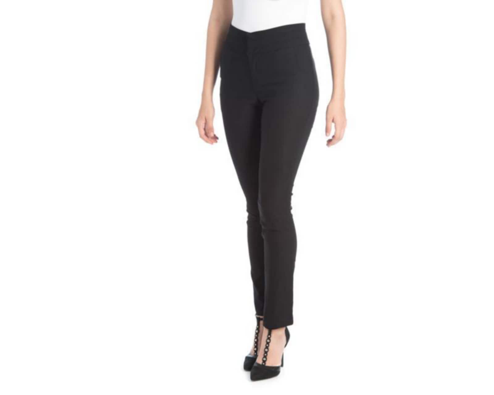 Pantalon De Vestir Negro Marca Sahara Para Mujer 3216842 Coppel