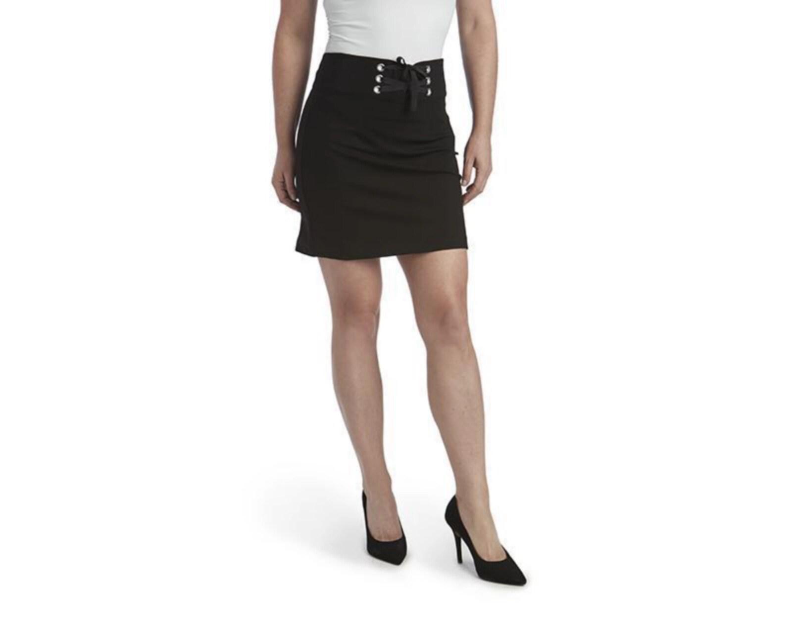 Mini Falda con Agujetas para Mujer Jennifer Lopez