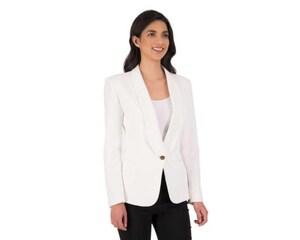 Blazer Casual Blanco marca Jennifer Lopez para Mujer
