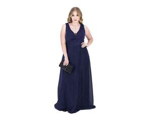Vestido de Fiesta color Azul marca Sahara para Mujer