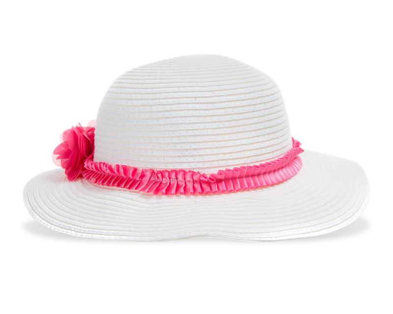 Sombrero Grafito Girls Blanco