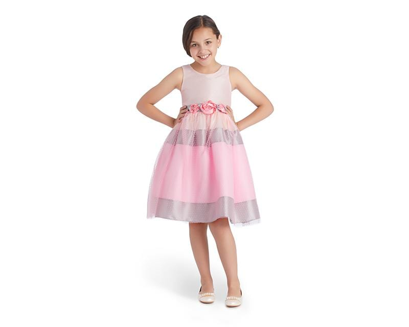 Vestido Grafito Girls Rosa