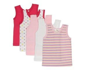 Set de Camisetas marca Baby Colors para Bebé Niña
