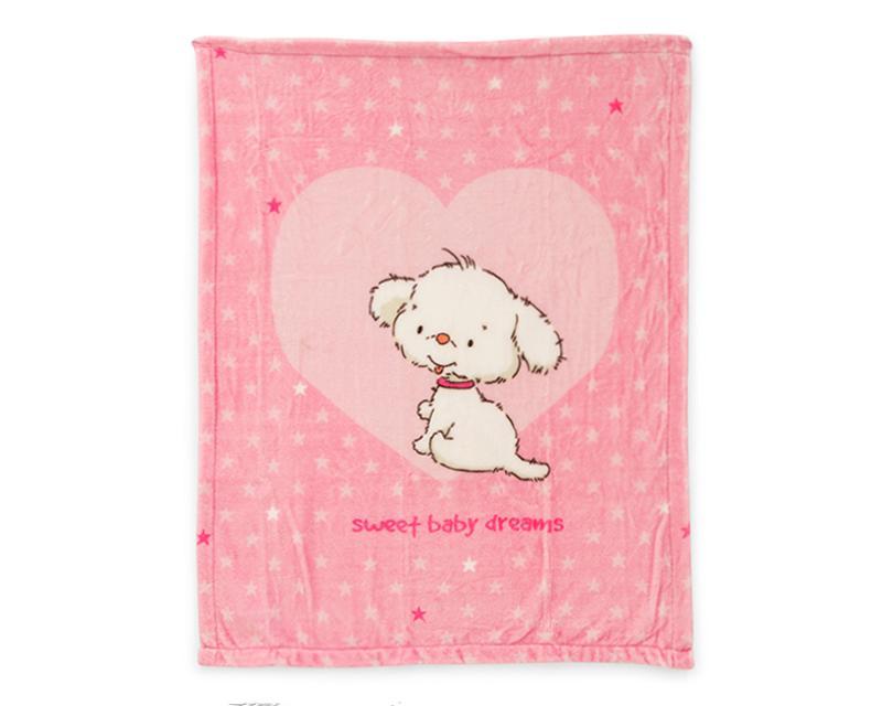 Foto 2|Cobertores marca Baby Colors para Bebé Niña 2 Piezas