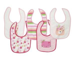 Set de Baberos marca Baby Colors con 5 Piezas