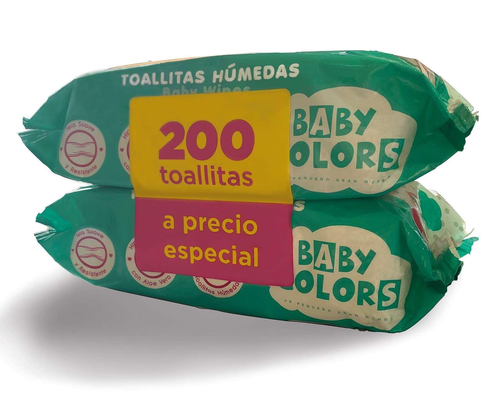 Set de Toallitas Húmedas Aloe Vera Baby Colors