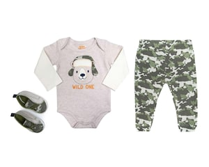 Conjunto de Algodón marca Baby Colors para Bebé Niño