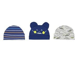 Gorros marca Baby Colors para Bebé Niño (3 piezas)