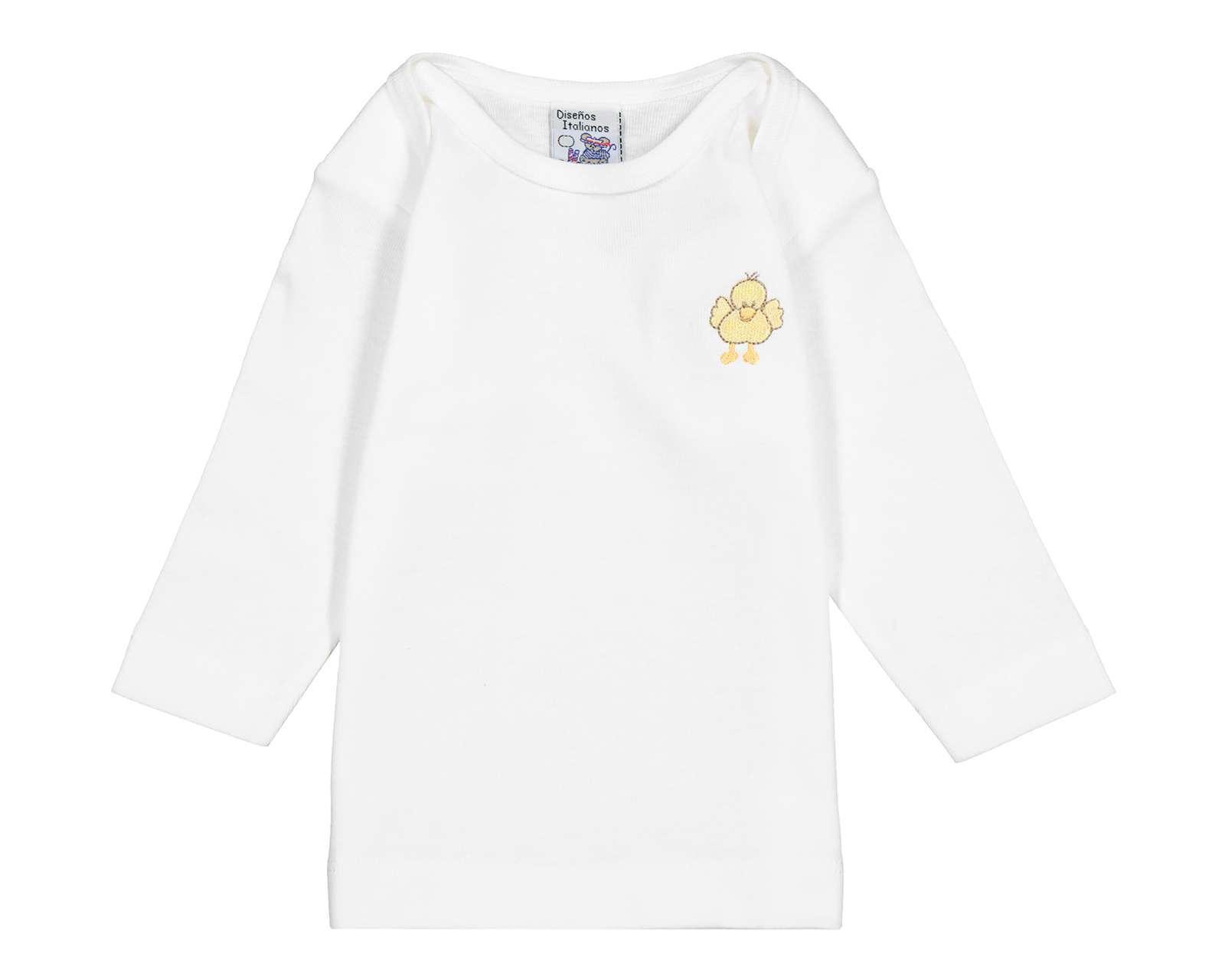 Camiseta de Algodón marca Diseños Italianos para Bebé