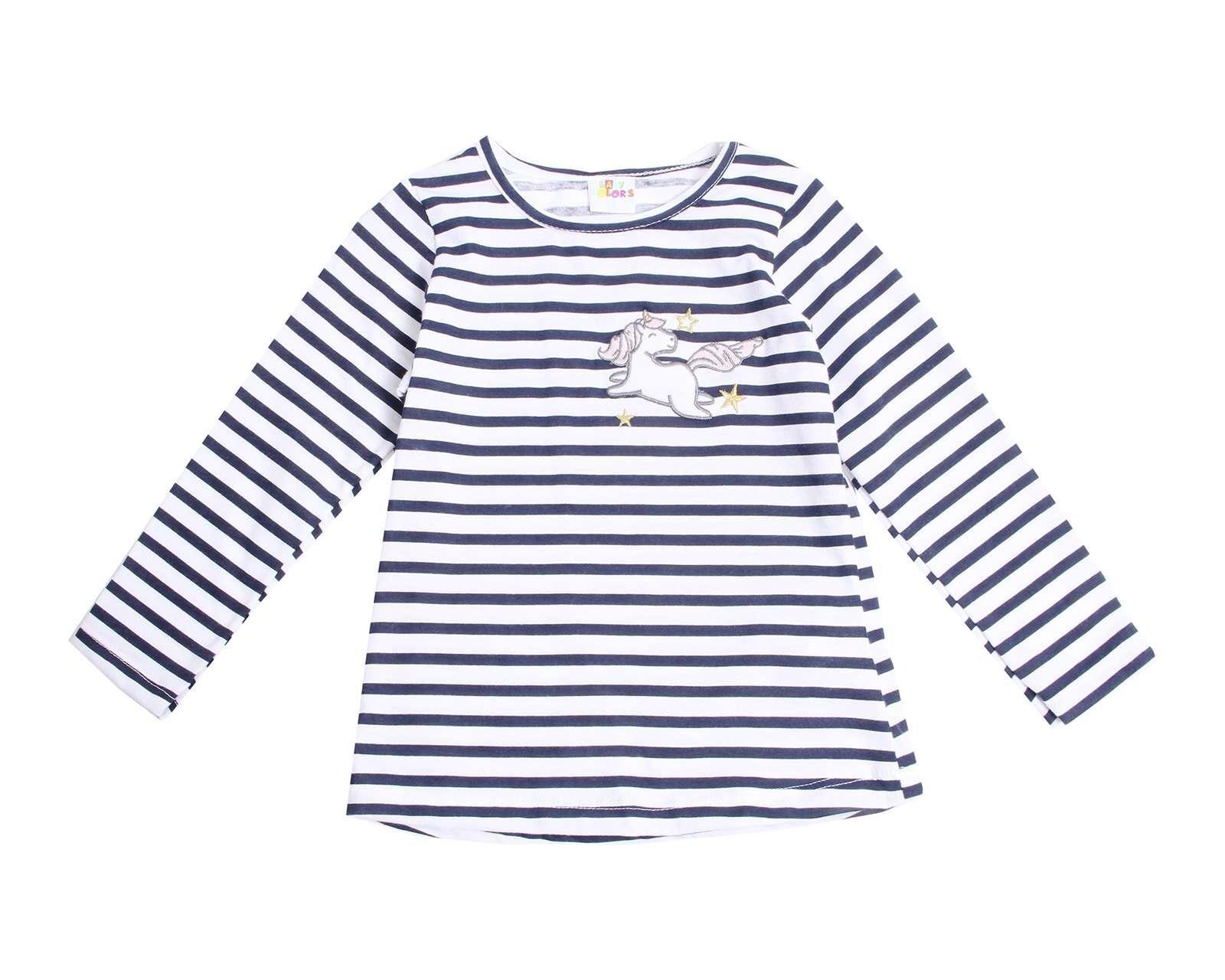 Foto 1 Playera de Algodón Azul marca Baby Colors para Bebé Niña