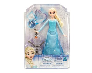 Muñeca Elsa Luces Glaciales Disney Frozen