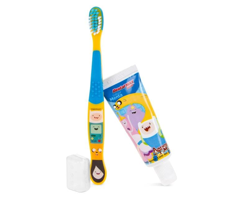 Set de Viaje con Cepillo y Pasta Dental Adventure Time
