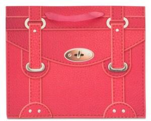 Bolsa de Cartón para Regalo32 x 10.5 x 25.5 cm cm Rosa