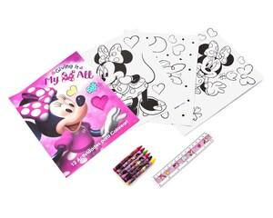 Set para Colorear Disney Minnie Mouse