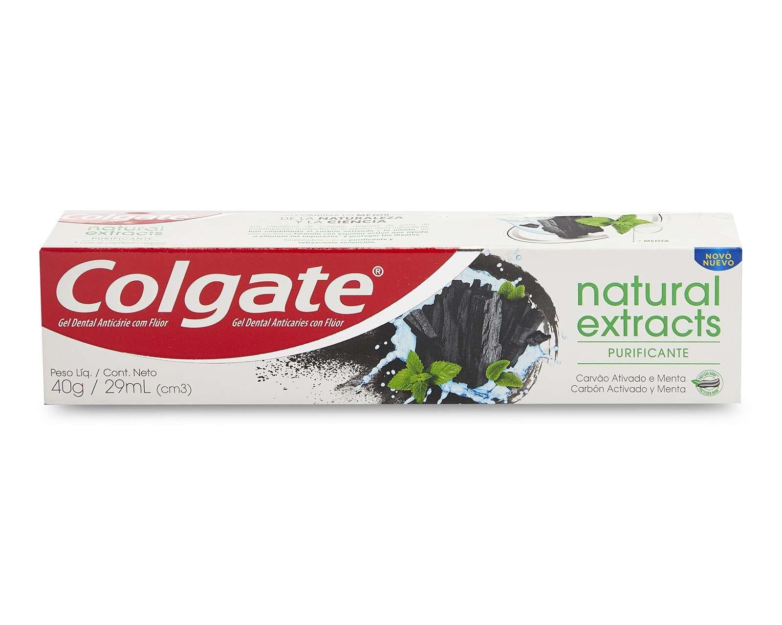 Pasta Dental Colgate Natural Extracts Purificante