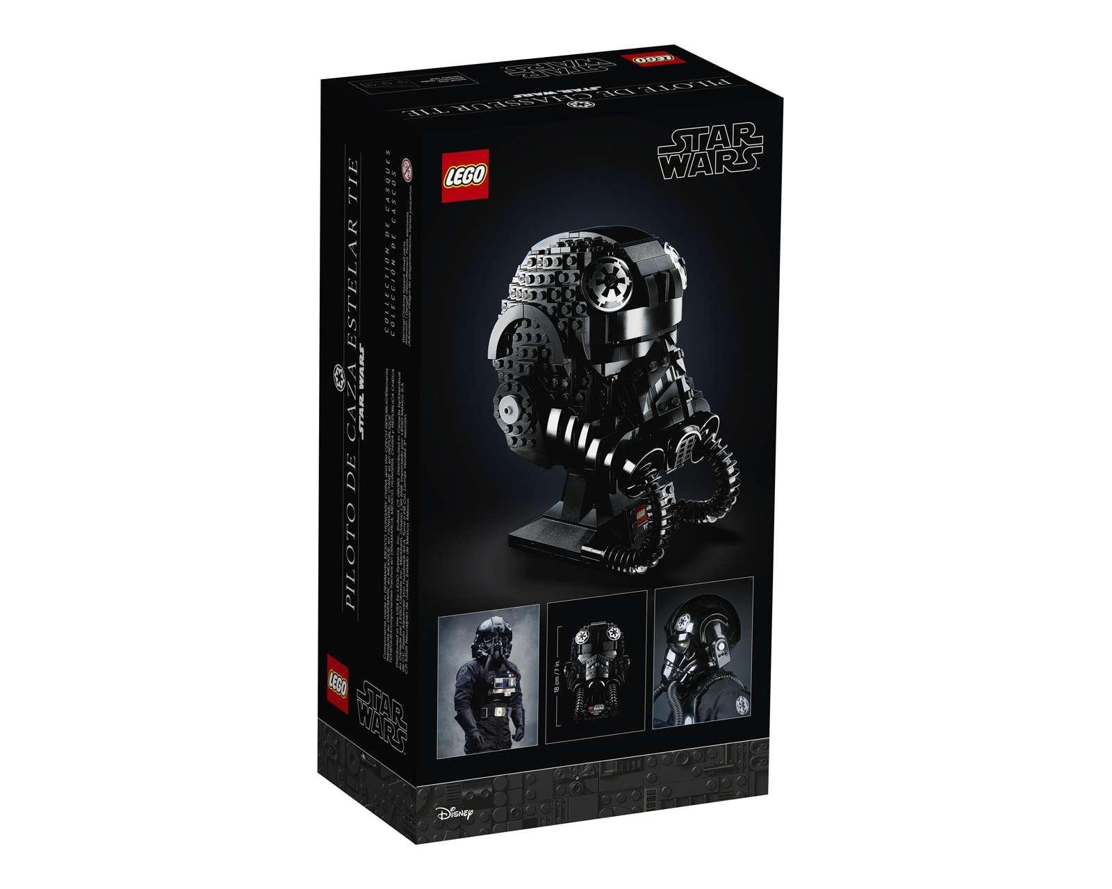 Foto 2|LEGO Star Wars Casco de Piloto de Caza TIE