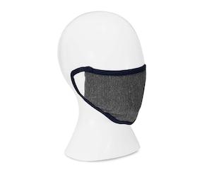 Cubrebocas de Dos Capas de Tela Reutilizable 2 Piezas