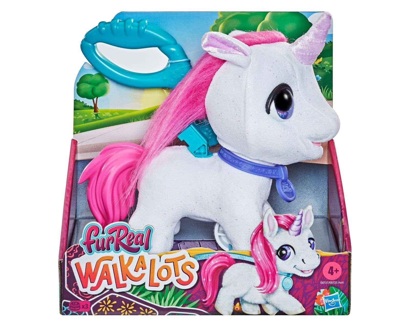 Unicornio Walkalots Furreal Friends Hasbro