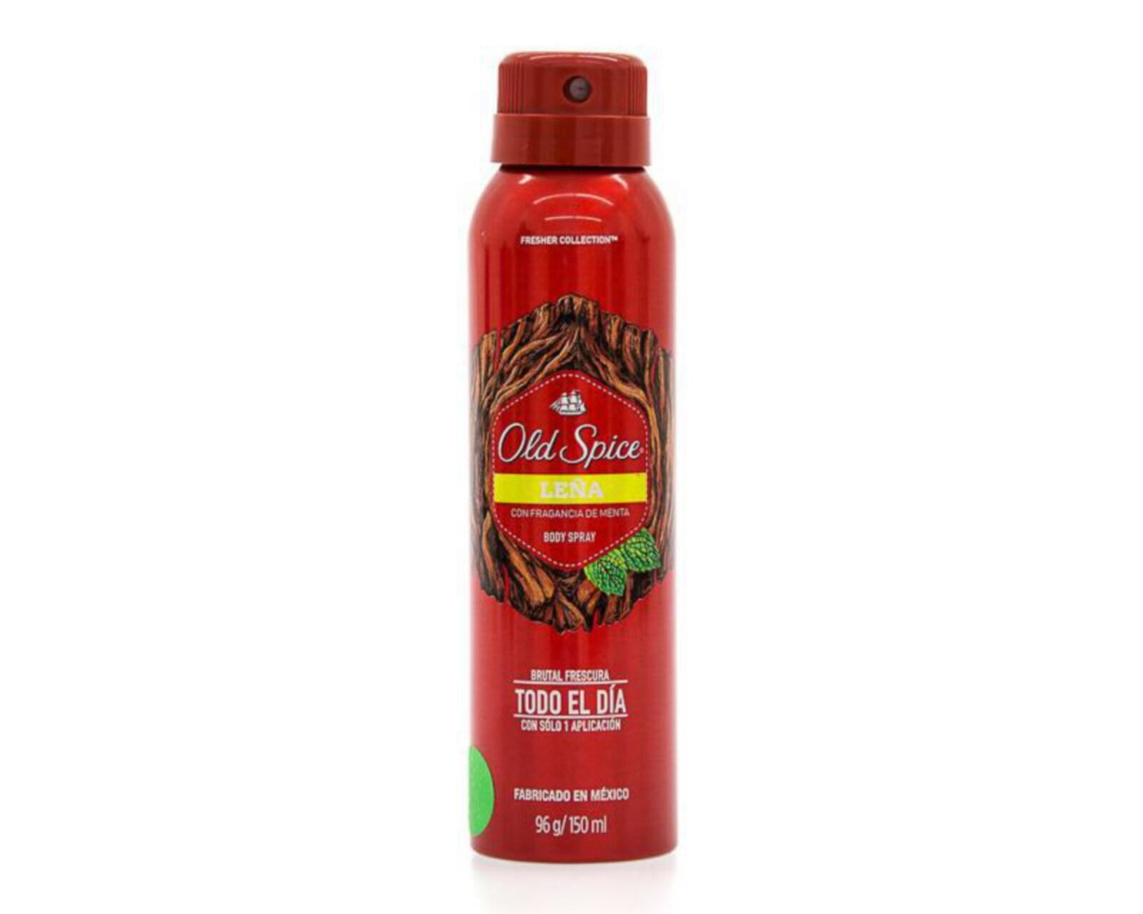 Body Spray Old Spice Leña