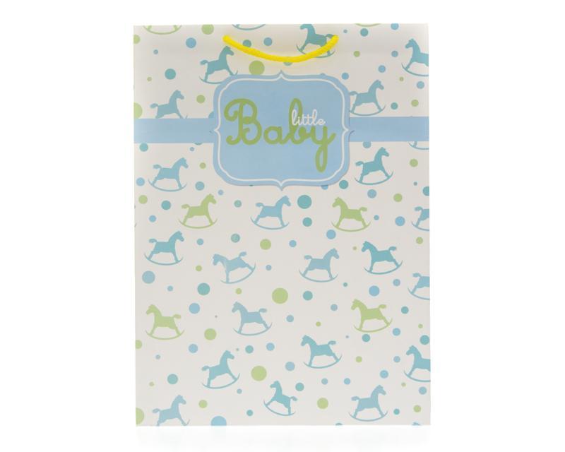 Bolsa de Cartón para Regalo 24.5 x 12.5 x 33.5 cm Baby Shoer