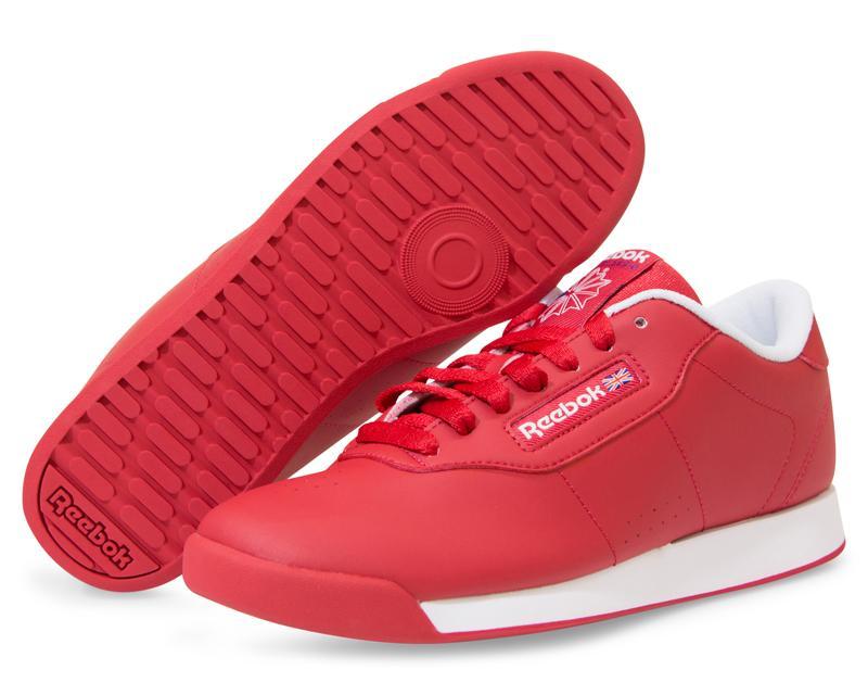 2c86536e2 Tenis Reebok Princess Rojos para Mujer 8094532